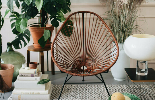 Acapulco Chair in Leder